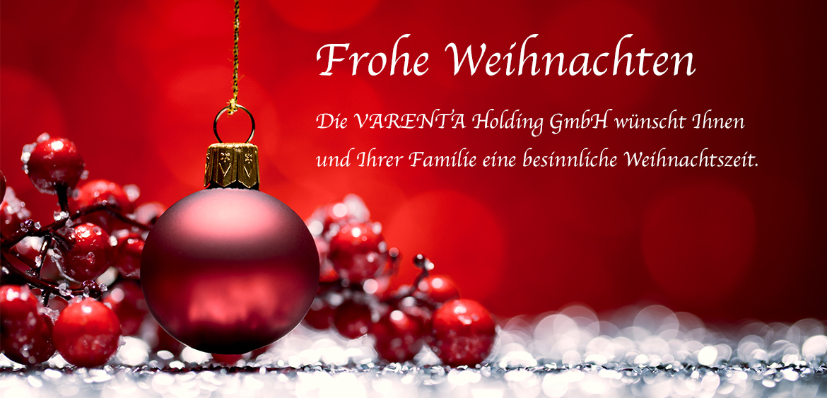 varenta holding gmbh frohe weihnachten. Black Bedroom Furniture Sets. Home Design Ideas